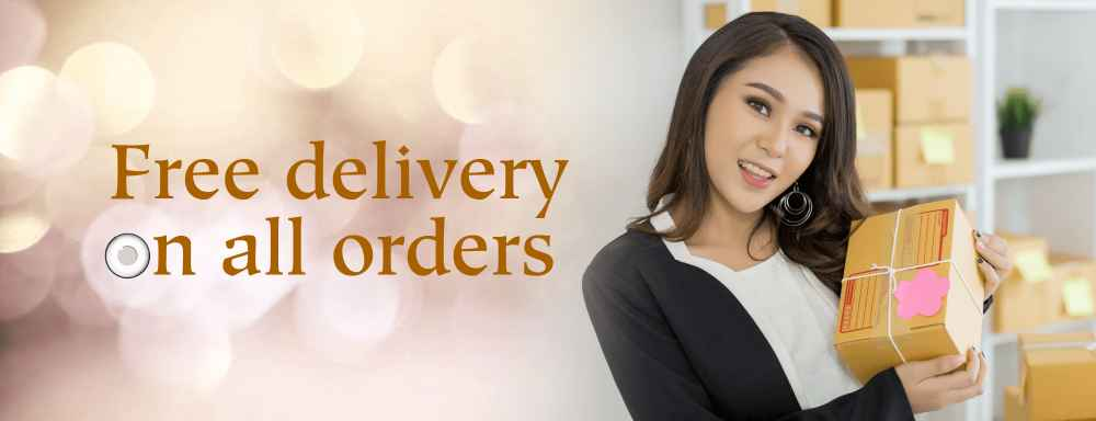 Free delivery on colored contact lenses