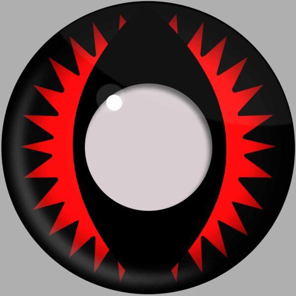 Fire Dragon Contact Lenses