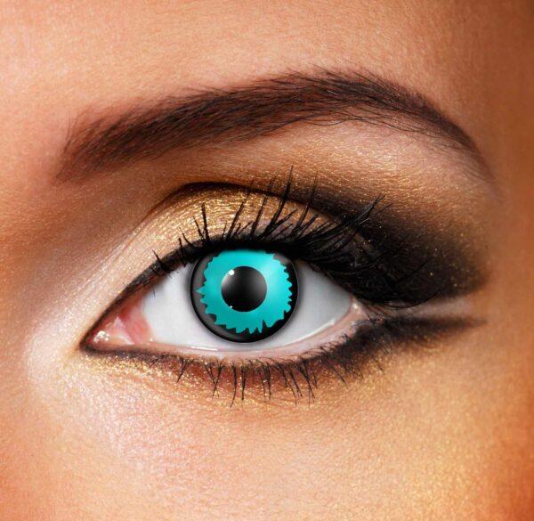 Green Color Elf Contact Lenses