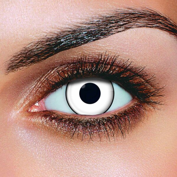 White Manson Contact Lenses