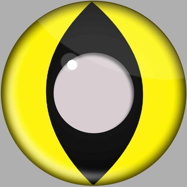 Yellow Cat Eye Contact Lenses