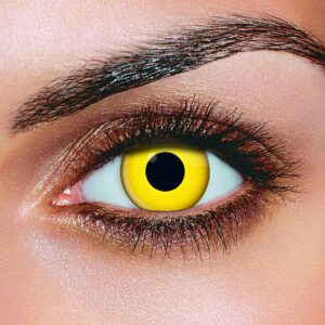 Yellow Color Contact Lenses