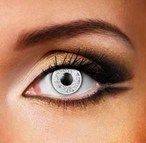 Black & Silver Contact Lenses