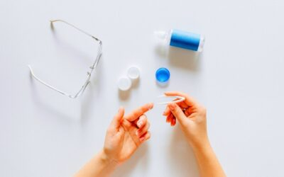 Safety Tips & Importance of Cleaning Colored Contact Lenses