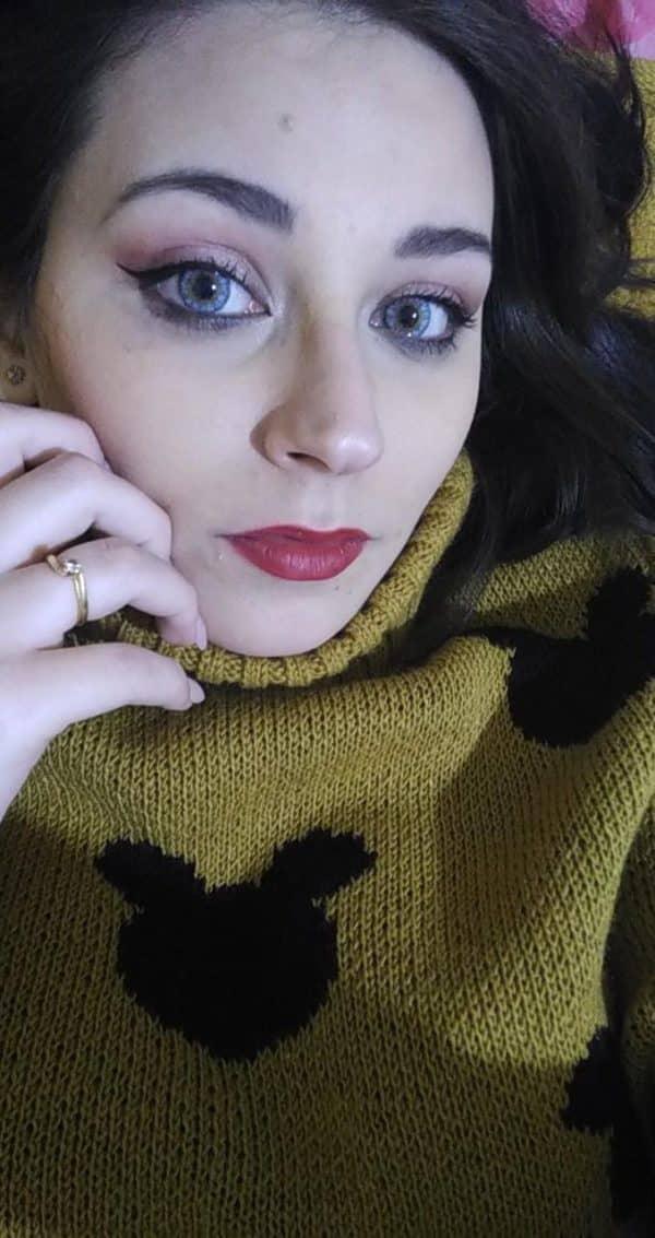 Yellow / Blue Fusion Contact Lenses