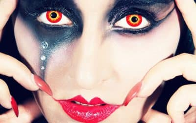 All About Colored Contact Lenses