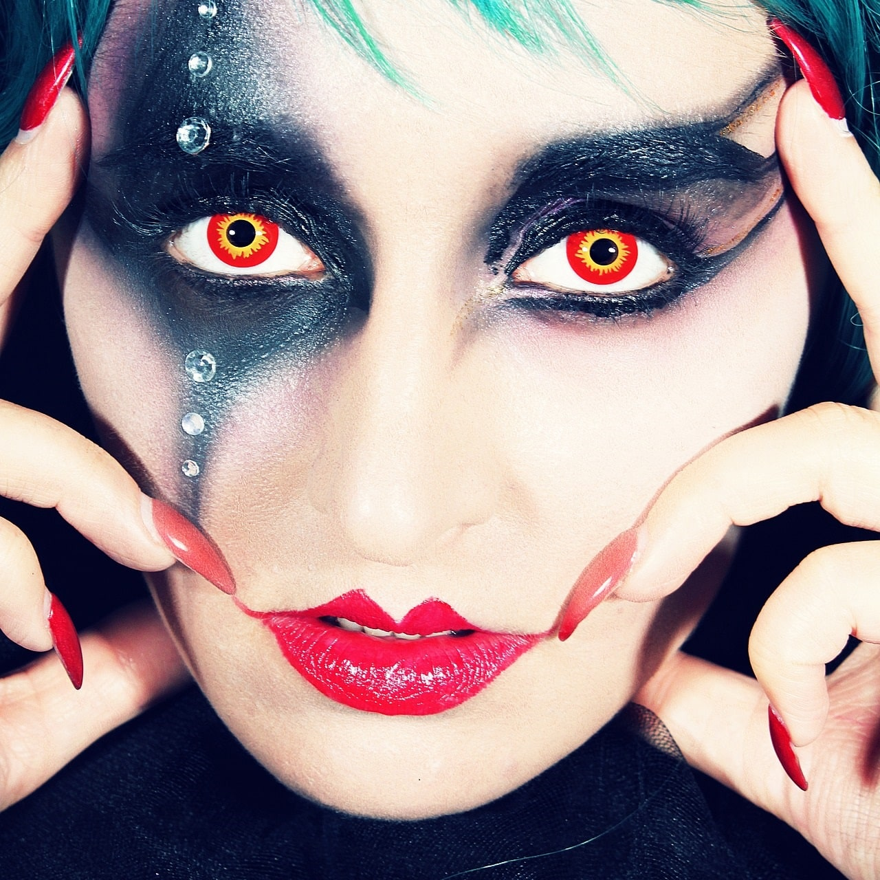about colored contact lenses